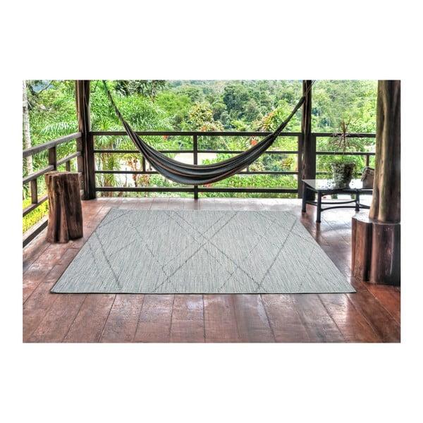 Weave Mujro kékesszürke szőnyeg, 77x150 cm - Universal