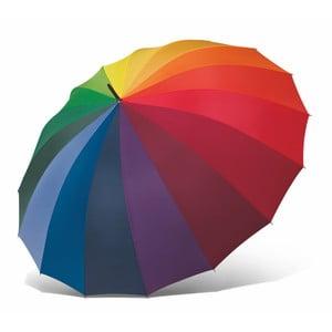 Rainbow színes esernyő, ⌀ 130 cm