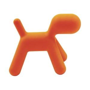 Puppy narancssárga szék, hossza 70 cm - Magis