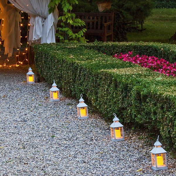 Lante kisméretű dekorációs kültéri LED lámpás - Tomasucci
