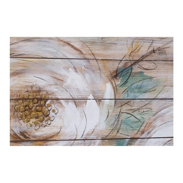 Westerns kézzel festett, virágmintás kép, 150 x 60 cm - Mauro Ferretti
