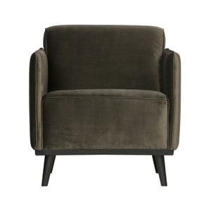 Velvet sötétzöld fotel - BePureHome