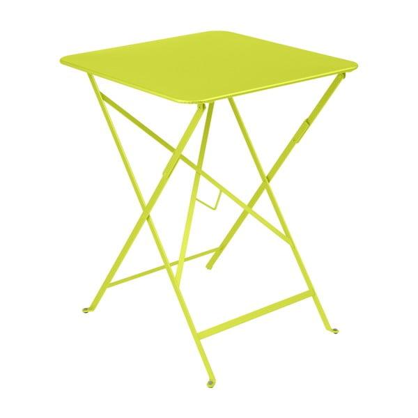 Bistro világoszöld kerti asztalka, 57 x 57 cm - Fermob