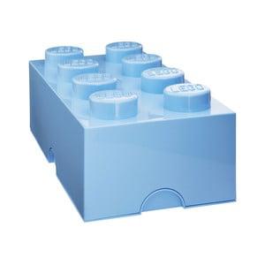 Világoskék tároló doboz - LEGO®