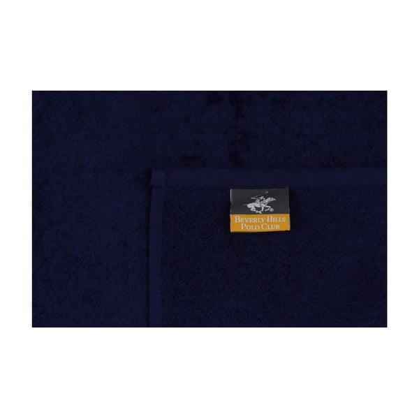 Polo Club kék-fehér kéztörlő szett