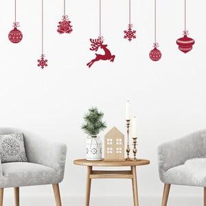 Fanastick Style Scandinave karácsonyi falmatrica - Ambiance