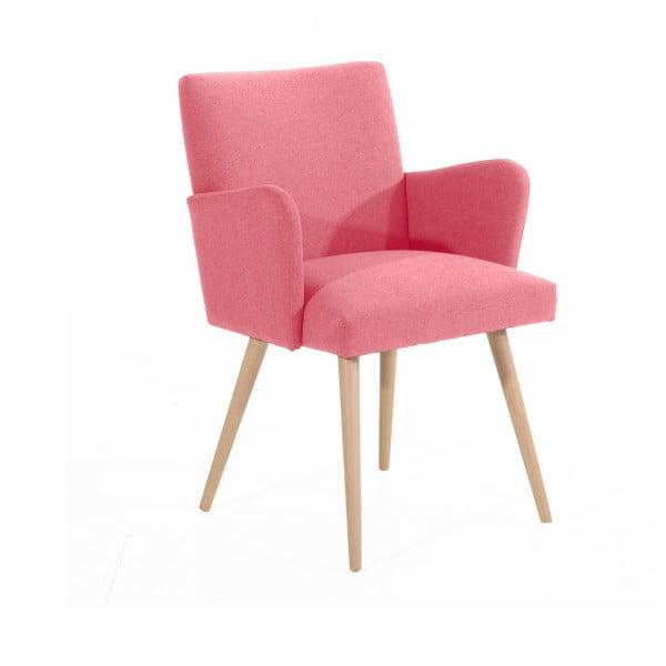 Albert rózsaszín fotel - Max Winzer