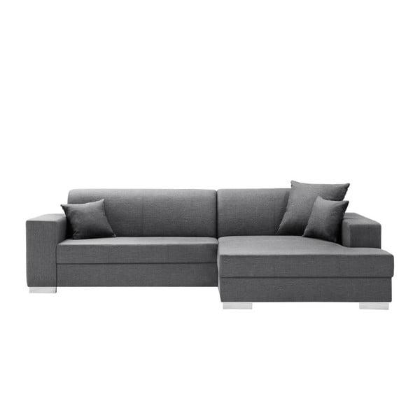 Perle sötétszürke kanapé, jobb oldalas - Interieur De Famille Paris