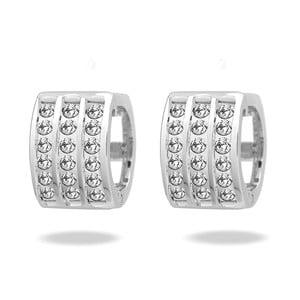 Stone Crystal fülbevaló Swarovski Elements kristályokkal - Saint Francis Crystals