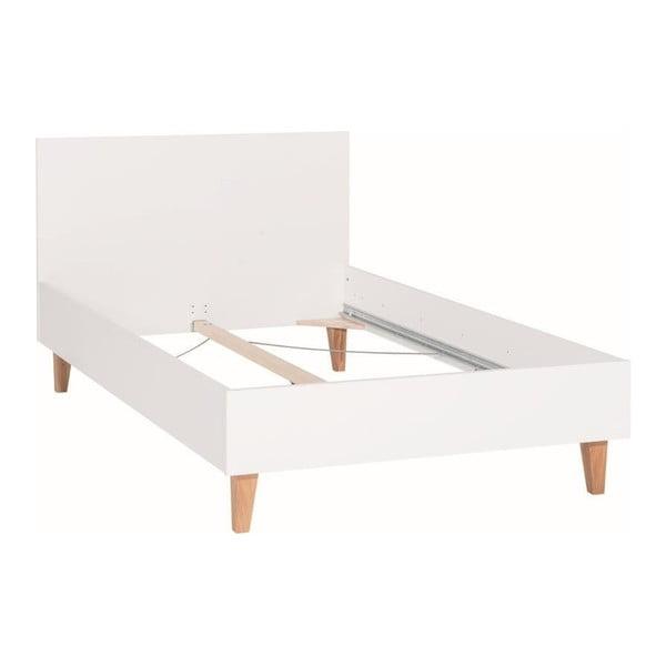 Concept fehér egyszemélyes ágy, 120 x 200 cm - Vox