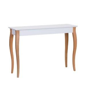 Console fehér tárolóasztal, hosszúság 105 cm- Ragaba