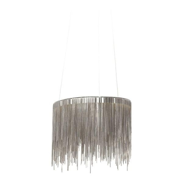 Fallen Chains Round ezüstszínű LED mennyezeti lámpa - Kare Design