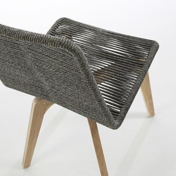 Glendon világosszürke szék, 2 db - La Forma