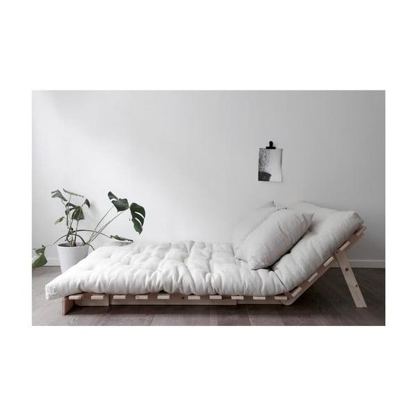 Roots Raw/Linen bézs kinyitható kanapé - Karup Design