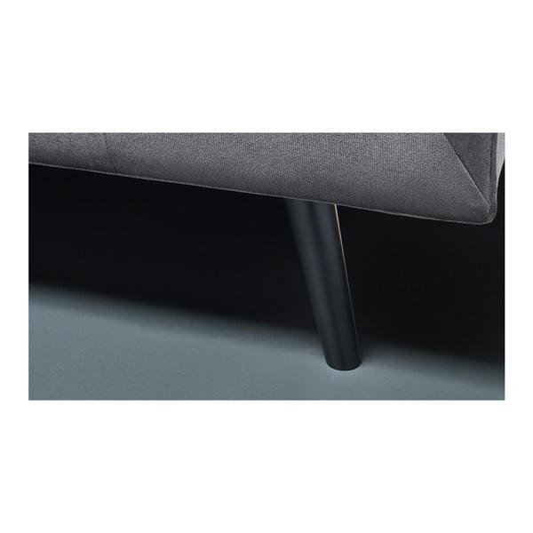 Paris sötétszürke háromszemélyes kanapé - Bobochic Paris