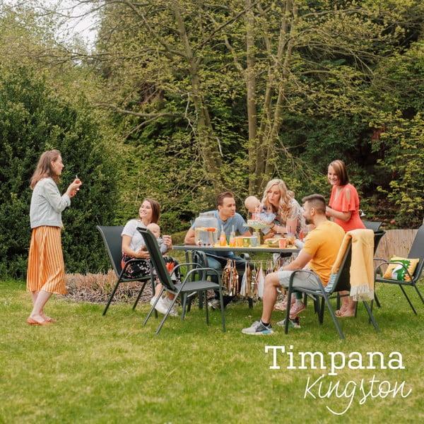 Kingston fém kerti bútor garnitúra - Timpana