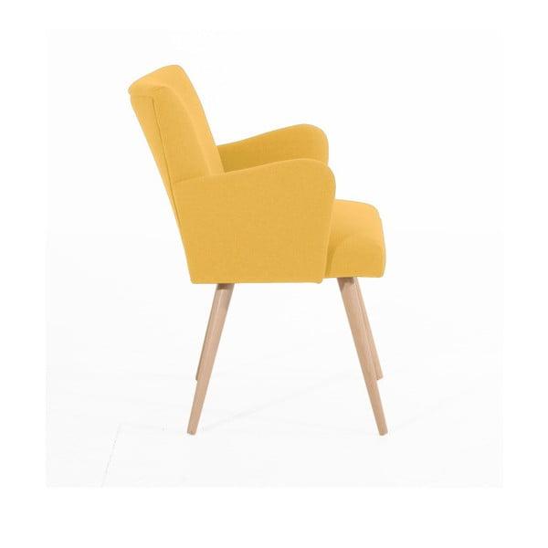 Albert sárga fotel - Max Winzer