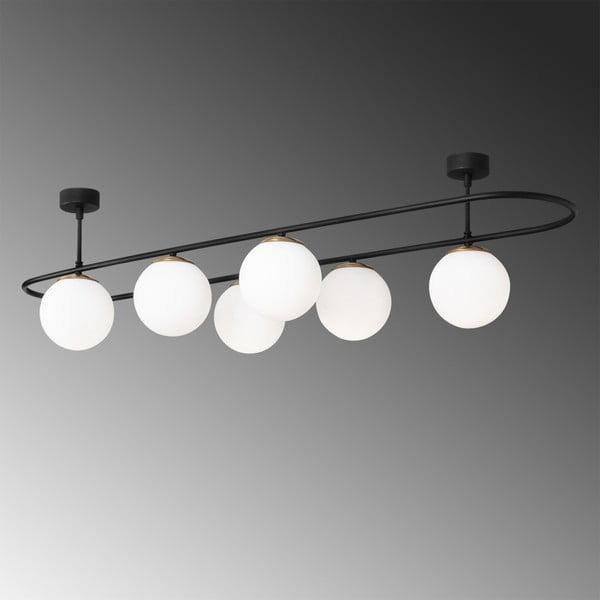 Louk fekete mennyezeti világítás - Opviq lights