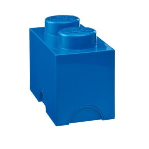 Kék dupla tárolódoboz - LEGO®