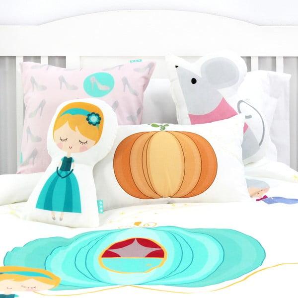 Pumpkin gyermek pamut ágyneműhuzat, 140 x 200 cm - Mr. Fox