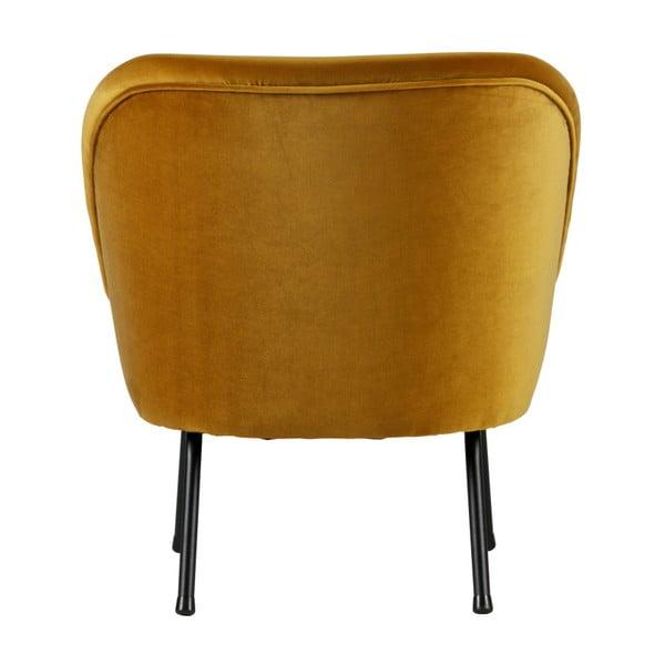 Vogue mustársárga fotel - BePureHome