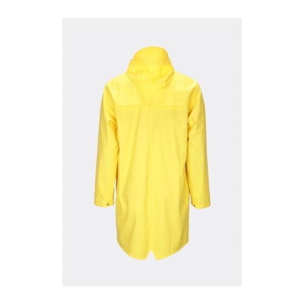Long Jacket sárga uniszex kabát nagy vízállósággal, méret: XS / S - Rains