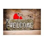 Welcome szőnyeg, 52 x 75 cm - Zerbelli