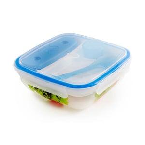 Fresh ételtároló doboz evőeszközzel és hűtő résszel, 1,5 liter - Snips