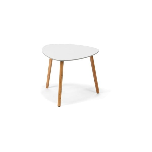 Viby fehér dohányzóasztal - loomi.design