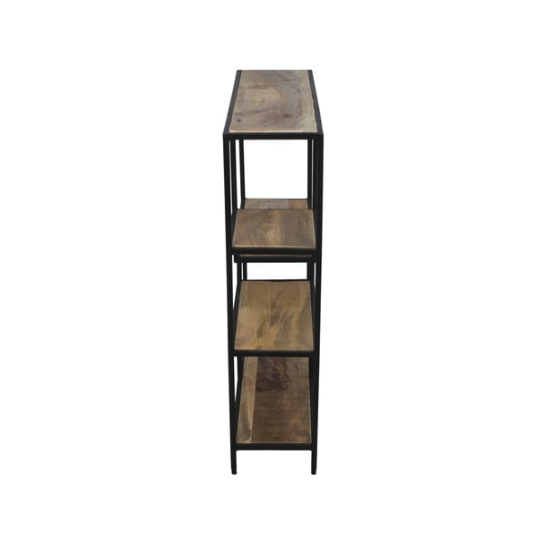 Levels mahagóni fa könyvespolc, 70 x 80 cm - HSM collection