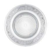Romance kör alakú üvegtál, ⌀ 25 cm - Unimasa