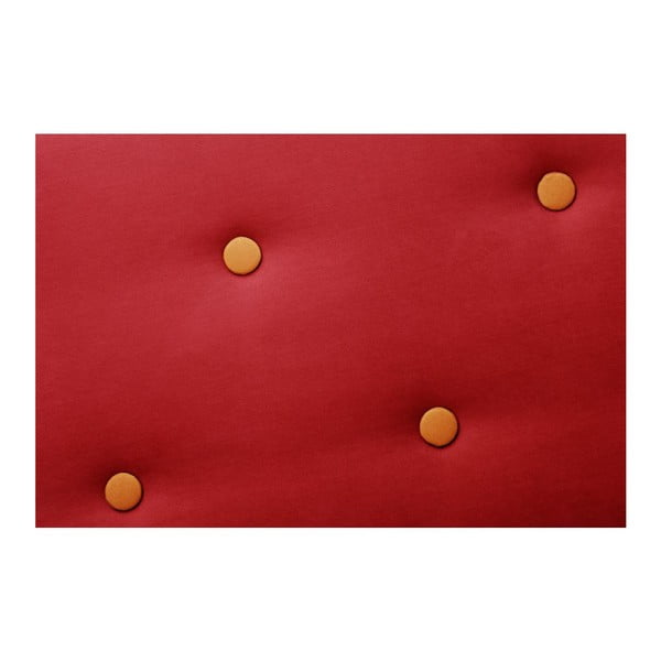 Constellation piros bal oldali háromszemélyes sarokkanapé - Scandi by Stella Cadente Maison