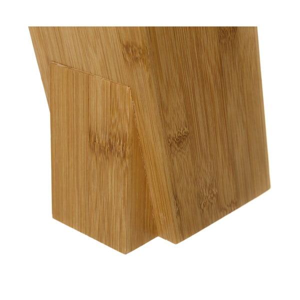 Késtartó bambuszból, magasság 26,3 cm - Unimasa