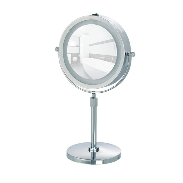 Lumi nagyítós kozmetikai tükör, LED világítással - Wenko
