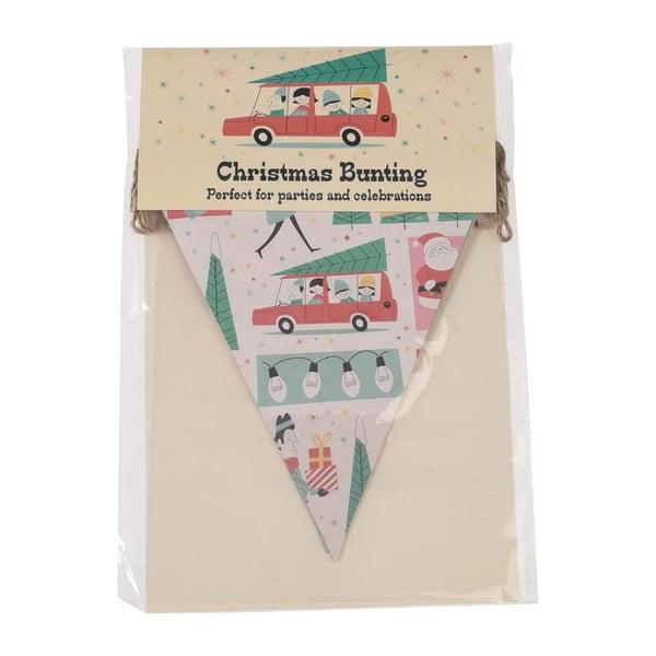 Festive Family karácsonyi papírgirland - Rex London