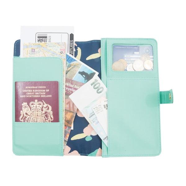 New Fashion világoszöld pénztárca utazáshoz - Busy B