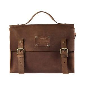 Little Frankie barna, vintage bőr aktatáska - O My Bag