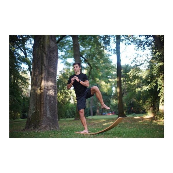 Woudie nagyméretű fehér bükkfa hintapad, hosszúság 117 cm - Utukutu