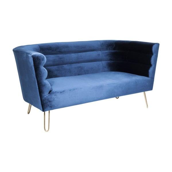 Monaco kék kétszemélyes kanapé - Kare Design