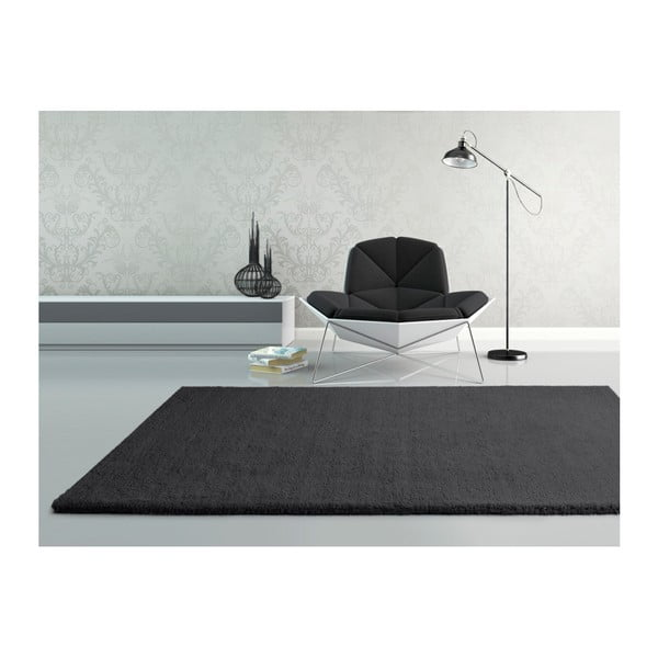 Shanghai Liso Antracita antracit szőnyeg, 160 x 230 cm - Universal