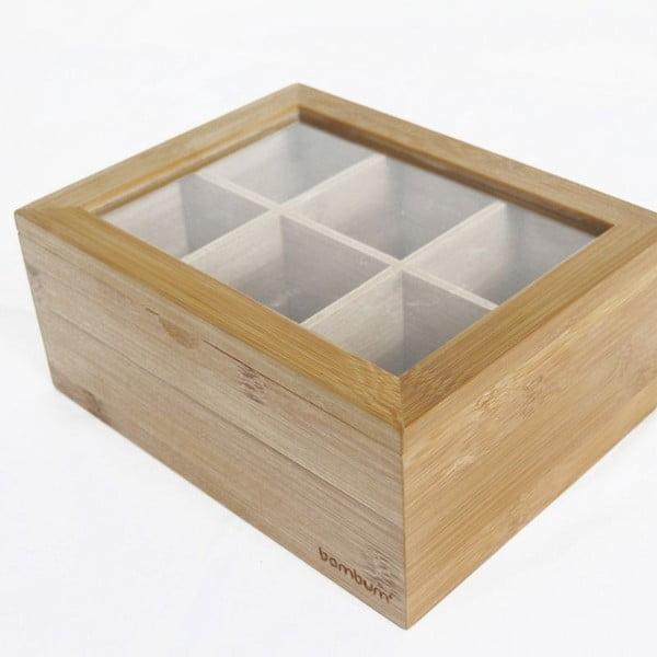 Misto bambusz teatartó doboz - Bambum