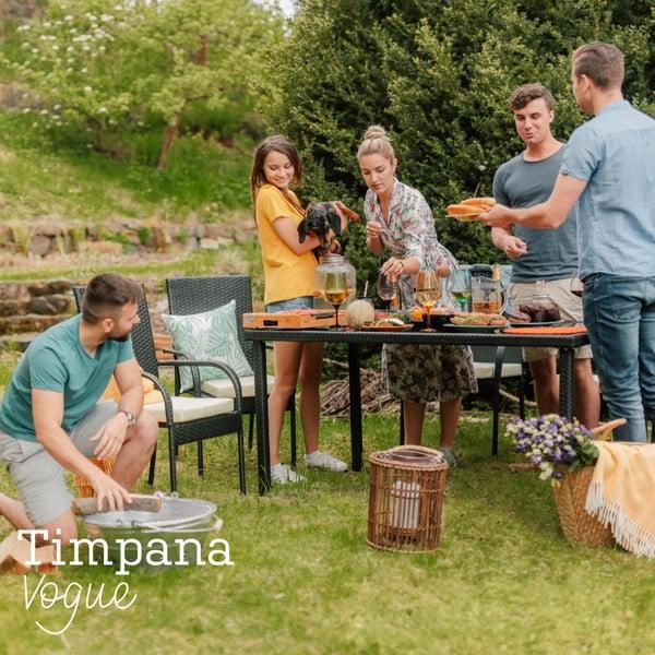Vogue kerti bútor garnitúra, mesterséges rattanból - Timpana