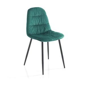 Sada 4 zelených jídelních židlí Tomasucci Fluffy