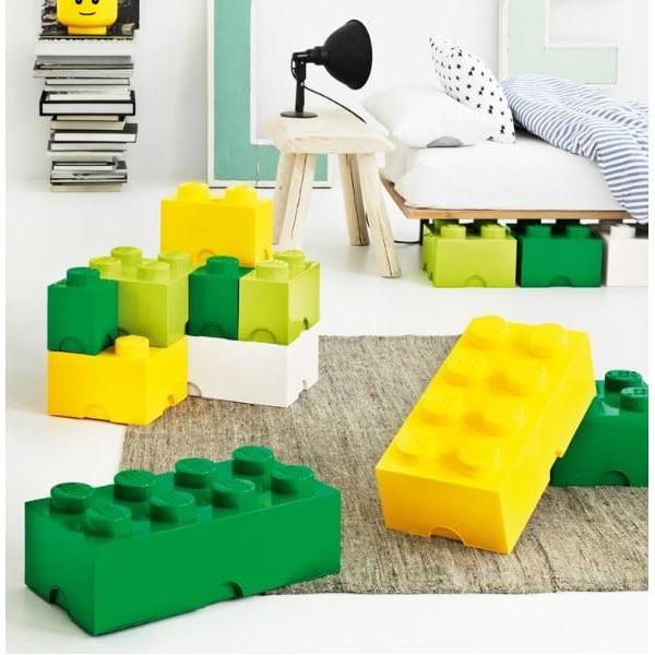Sötétsárga tároló doboz - LEGO®