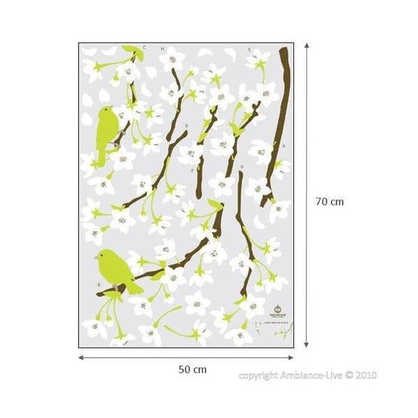 Tree With Flowers öntapadós falmatrica - Ambiance