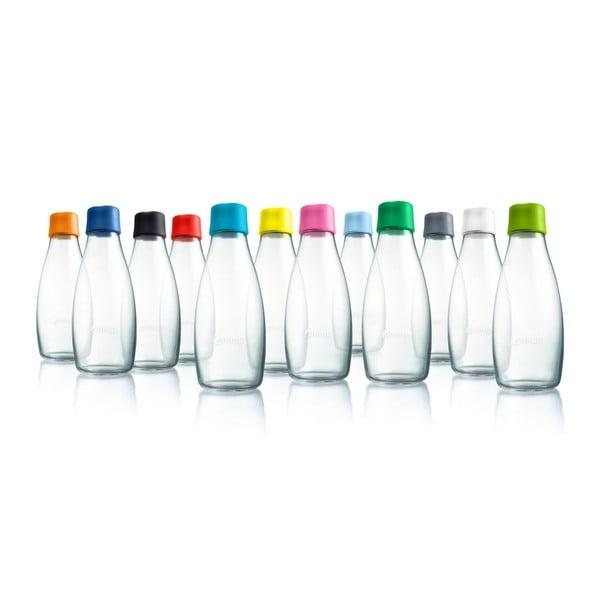 Világoskék üvegpalack élettartam garanciával, 800 ml - ReTap