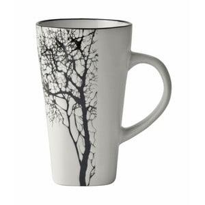 Tree fehér agyagkerámia bögre, 300 ml - KJ Collection