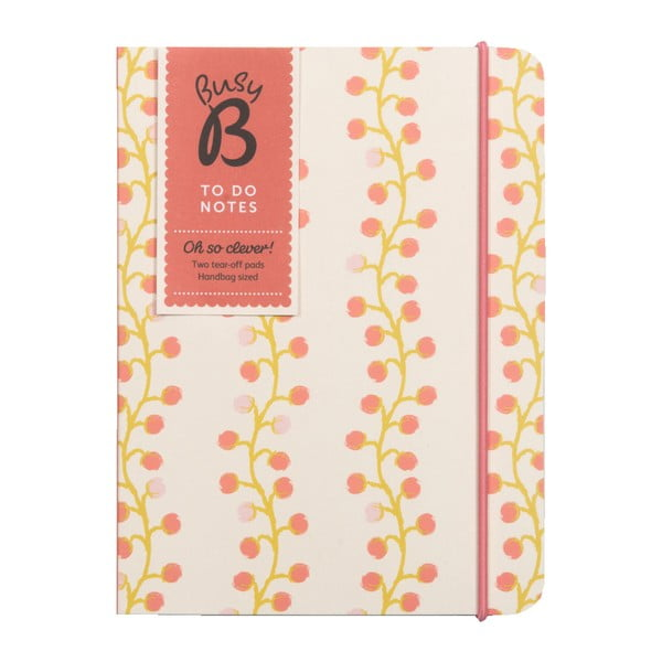 To Do Floral jegyzetfüzet - Busy B