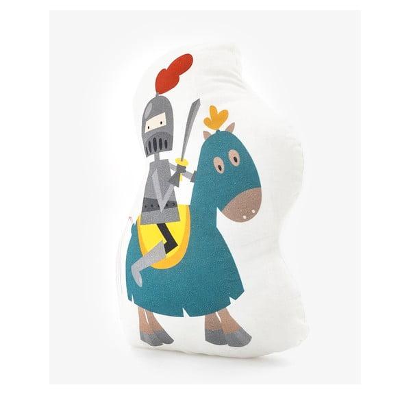 Knight pamut párna, 40 x 30 cm - Mr. Fox
