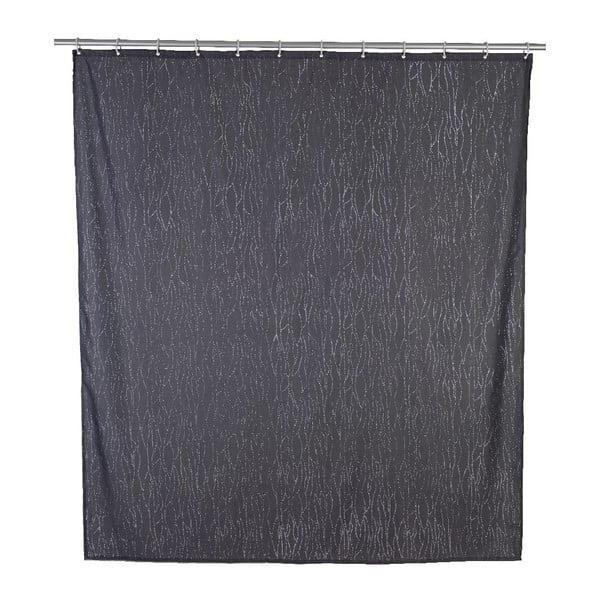 Deluxe szürke zuhanyfüggöny, 180 x 200 cm - Wenko